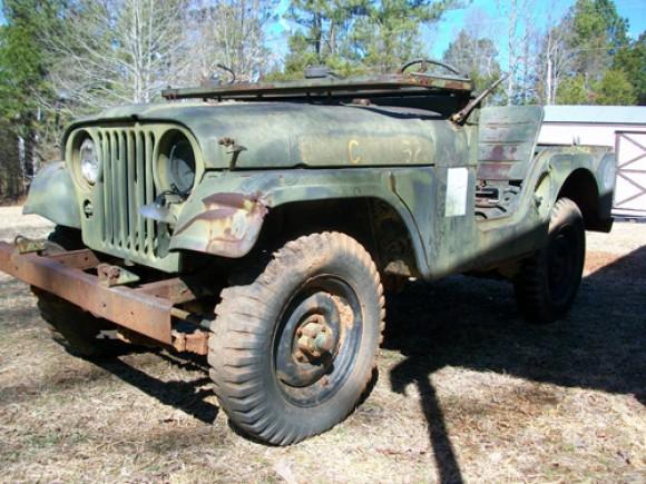 Michael Scoggins 1964 US Marine Corps M38A1