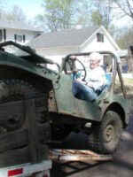 Dad Loading Willys
