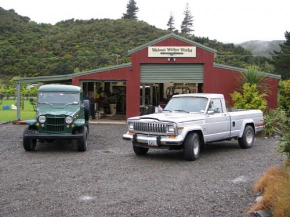 Don Morgan's 1961 Willys Pickup