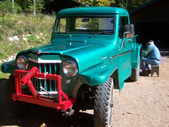 Carolyn Parker's 1962 Willys Truck