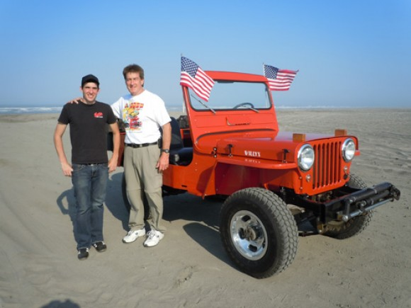 Daniel and Jon Bynon's 1951 CJ-3A