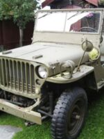 Svein Roll's WWII Jeep