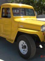 Tom & Marilyn Petrosie's 1948 Willys Stakebed Truck