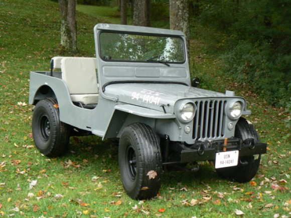 Robert Abernethy's 1953 Navy Jeep CJ-3A