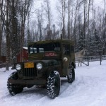 My Arctic Willys M38 Jeep