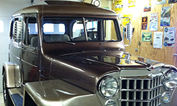 Custom Willys Wagon http://blog.kaiserwillys.com/20-new-member-photos-willys-jeep-blog