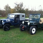 Stanley Wurzburger's Two Willys Jeeps