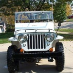 A Nice Ride Through Life in a Willys Jeep