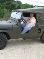 Jimmy Parks' 1961 M170 Jeep