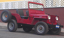 Carlos Figueroa - 1950 Willys CJ-3A
