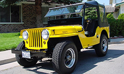 Willie Stromer - Willys CJ-2A