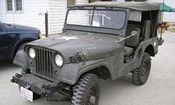 Craig Vonilten 1953 Willys M38A1