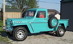 Edgar Crabtree 1962 Willys Truck