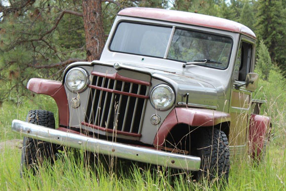 Rod Smith's 1957 Willys Truck