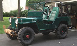 Keaton Macbeth 1947 Willys CJ-2A