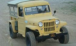 Lance Garner 1953 Willys Truck