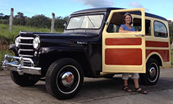 Mario Venegas Willys Station Wagon
