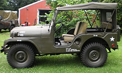 Paul Mercier 1954 Willys M38A1
