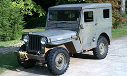 Tom Sullivan 1950 Willys CJ-3A