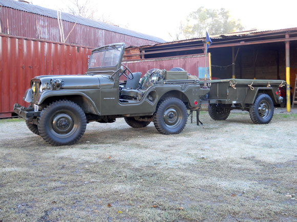 Gabriel Chiodi's 1962 Willys M38A1