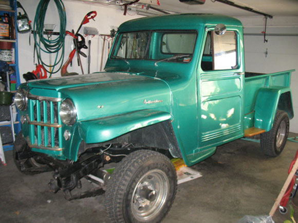 Alan St. Germain's 1954 Willys Station Wagon
