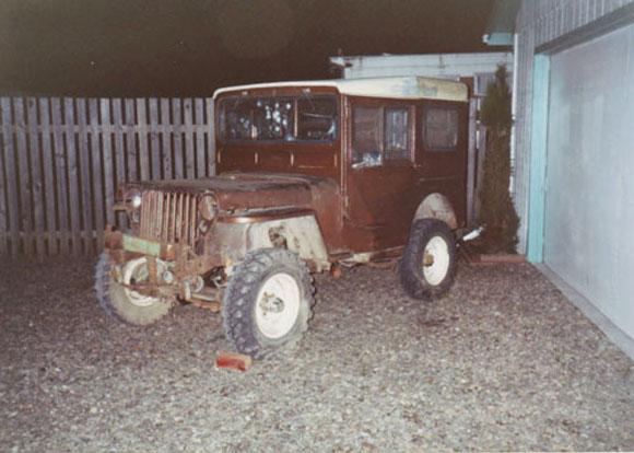 Jerry Revenig's 1951 Willys CJ-3A
