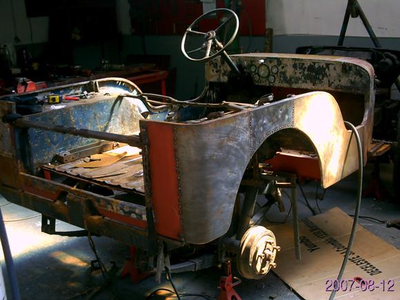 Ignacio Fernandez' 1951 Willys CJ-3A