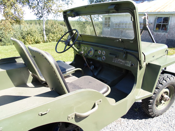 Richard Cloutier's 1963 Willys CJ-3B