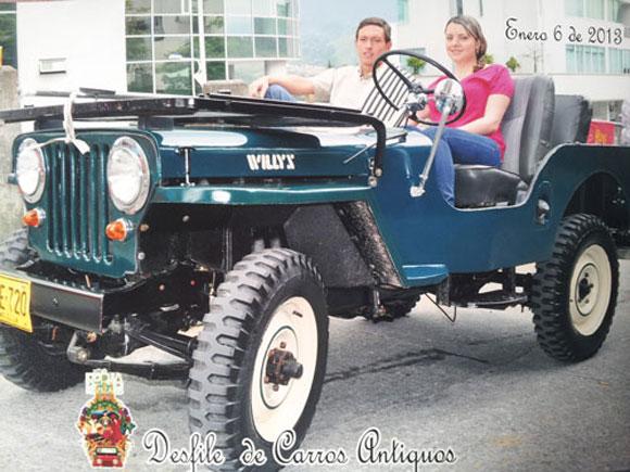 Juan Pablo Murillo Villa 1951 Willys CJ-3A