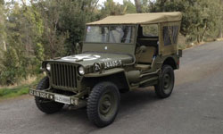 Frank Segura Tallo's 1962 Hotchkiss M-201 Jeep