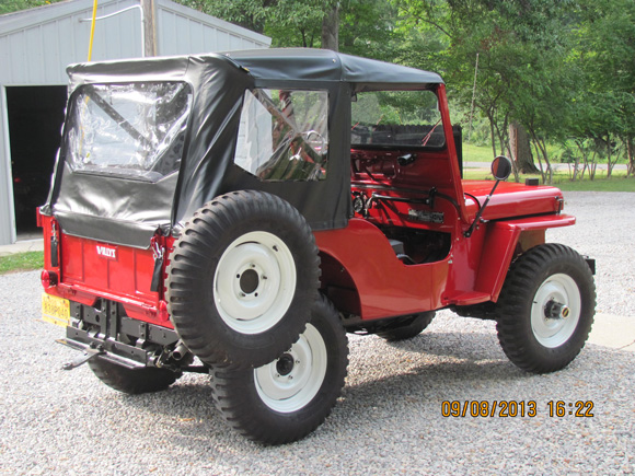 Don Thomas' 1951 Willys CJ-3A