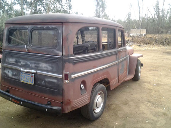 William Herold's 1959 Willys Station Wagon
