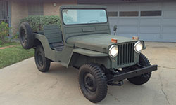 Mike Weigel's 1950 Willys CJ-3A