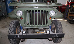 Richard Cloutier's 1963 Willys CJ-3B