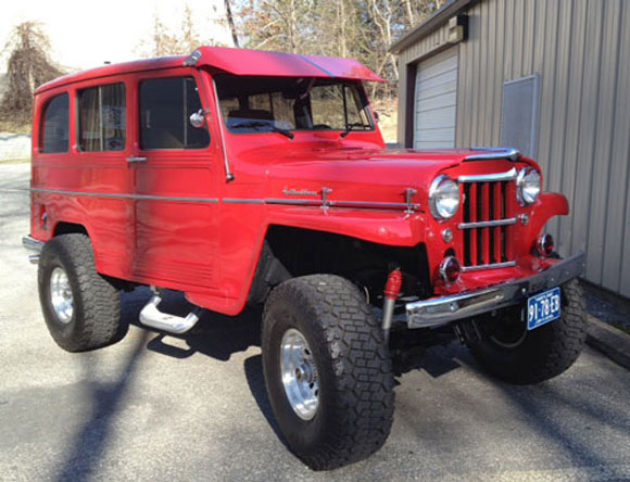Stacey Stone's 1960 Willys Station Wagon