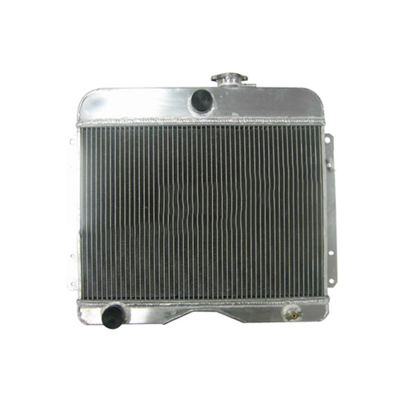 Aluminum Radiator Assembly for CJ-3A, 3B, Truck, Station Wagon, Jeepster