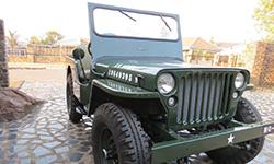 Andre van der Sandt's Willys Jeep