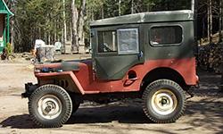 Bruce Fuller's Willys M38