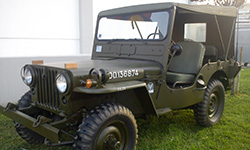 Chris Roussis' 1950 Willys M38