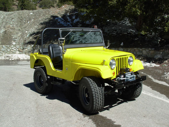 Darrel Parlapiano 1967 CJ-5 Jeep