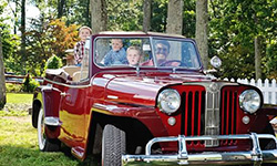 Greg and Karen Young's 1949 Willys Jeepster