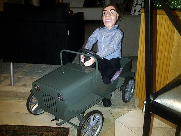 Fernando Cury's Pedal Jeep