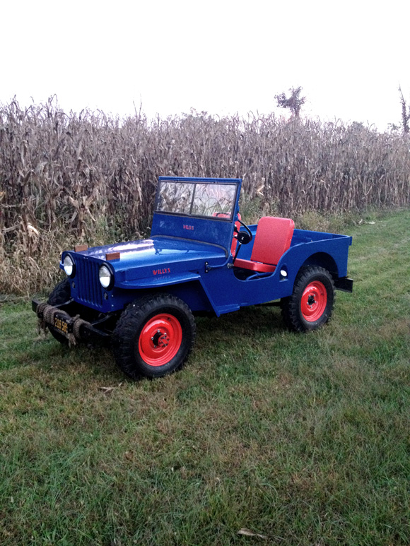 Jamie Walters' 1946 Willys CJ-2A
