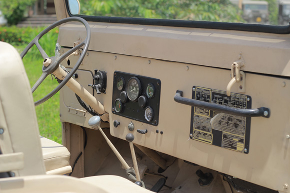 Romeo Dilig's 1958 Willys M38A1