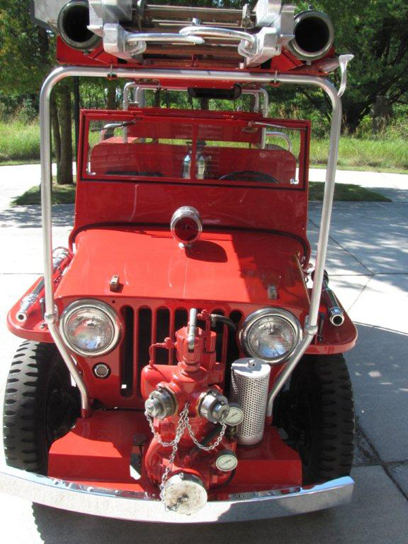 Dick Nelson 1947 Willys CJ-2A Fire Truck