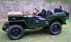 Roberto Borim's 1952 Willys CJ-3A