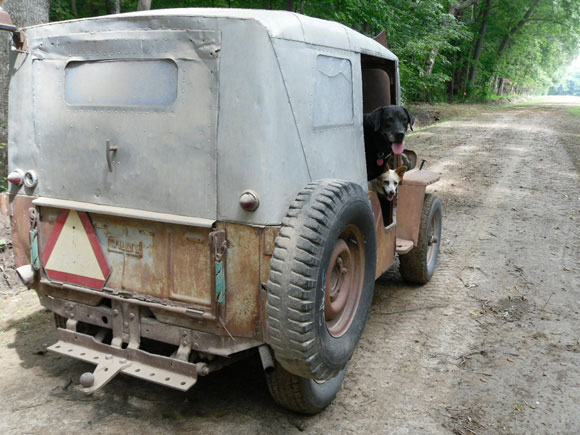 Nelson Smith's 1952 Willys CJ-3A