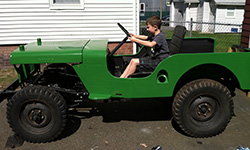 Shawn Keeley's 1948 Willys CJ-2A