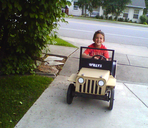 Willys Jeep Pedal Car