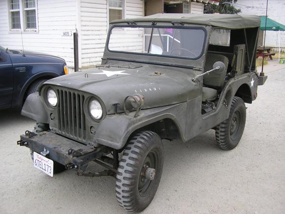 Craig Vonilten's 1953 Willys M38A1